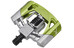 Crankbrothers Mallet 2 - Pedales - verde/Plateado